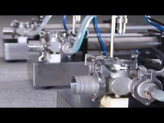 BW500 gable top filling machine for juice milk dairy water wine - YouTube