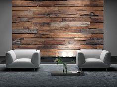 Drewniana Ściana - fototapeta - 366x254 cm  Gdzie kupić? www.eplakaty.pl