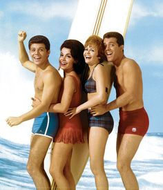Annette Funicello and Frankie Avalon...