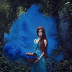 Magical Photos Of Women With Animals From Fairy Tales - Enchanted, Fantasy, Photography, Portraits, Women