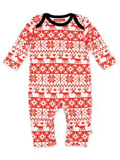 Graphic Print Onesie by Oh Baby London at Gilt