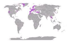 Jeg har udforsket 4.35% af verden #mytravelmap