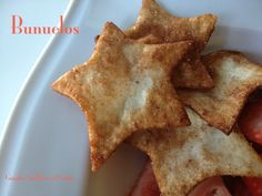 An easy, sweet treat with an authentic flair, Bunuelos.  Ready in minutes - via Giggles, Gobbles and Gulps