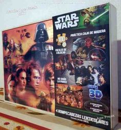 Rompecabezas Lenticular Star Wars (paquete de 4)
