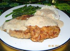 Bonnie Dare's ---- Chicken Fried Steak -- The Best!