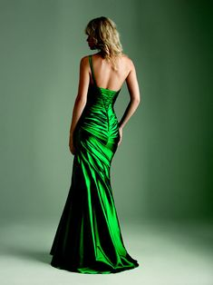Green Dress (I love this color, but I would need 2 straps).