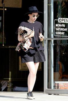 Rooney Mara out in Los Feliz, California