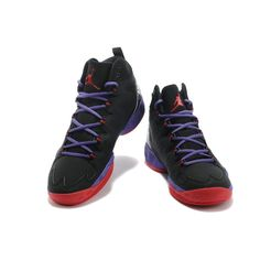 151aac760386 Air Jordan Melo M10 Black Purple Red at kicksvovo.com Cheap Jordans