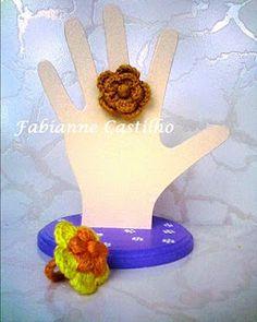 Fabianne Castilho: Rings Crochet
