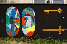 Collaboration with 2501 and Zamoc - Rimini, Italy 2013 Rimini Italy, I Saw, Urban Art, Collaboration, Outdoors, World, Painting, Outdoor, The World
