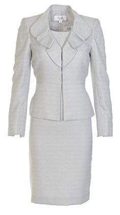 Le Suit Women's Business Suit Jacket Dress Set (2P, Silver/Grey) Le Suit http://www.amazon.com/dp/B00DD270JG/ref=cm_sw_r_pi_dp_pf4wub1J2WCPT