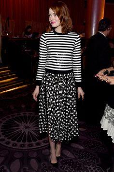 Emma Stone Photos: Inside the Academy Awards Nominee Luncheon