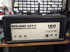 Sound city amp