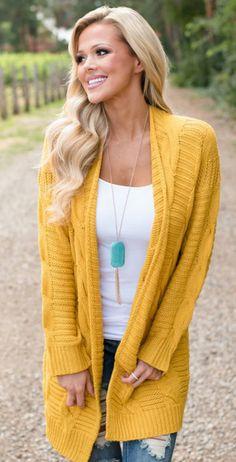 Mustard sweater