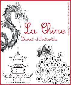 Activity booklet on China selection of books Avenue Reine Mathilde New Year's Crafts, Crafts To Do, Montessori Activities, Activities For Kids, Chinese New Year Activities, Earth Craft, Asian Party, Chinese Crafts, Best Teacher