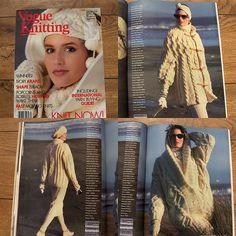 Vintage 80s Knitting patterns VOGUE KNITTING Autumn/Winter 1986/87