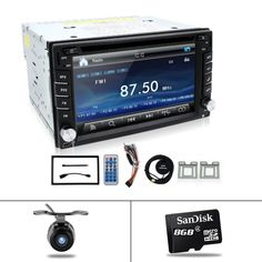 cassette player for universal cars GPS navigation/Radio tuner/MP3/USB/SD/Bluetooth/Steering Wheel Control/Remote Control Map Cam