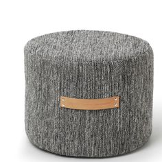Design House Stockholm - Bjork Dark Grey Low Stool | Panik Design