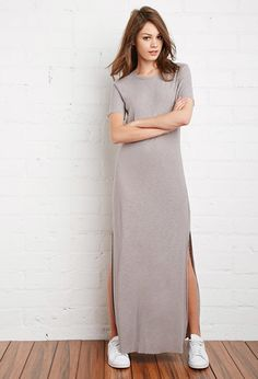 Robe T-Shirt Maxi | Forever 21 Canada