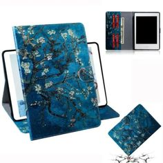 CHENCHUAN Tablet Case Cover Apricot Blossom Pattern Horizontal Flip Leather Case for Galaxy Tab A 2019 / with Holder Card Slot Wallet PC Accessory for Galaxy Tablet Accessories Cases-Sleeves Computer Accessories Kindle Fire Tablet, Tablet 7, Kindle Case, Mobile Case Cover, Mobile Cases, Ipad Pro, Leather Case, Leather Wallet, Galaxy Tablet
