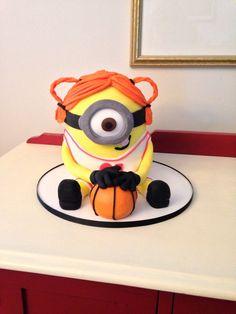 Basketball cake topper by Donatella Bussacchetti Cakes Cake