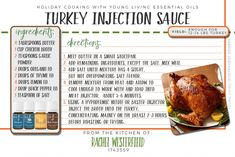 Young Living Essential Oils:  Turkey Sauce Recipe