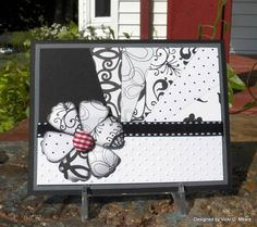 great black and white card use of multi occasions