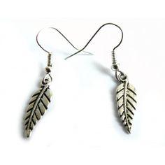 Boucles d'oreilles #Feuilles antiques - #Boucles d'oreilles Femme