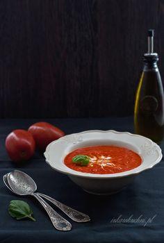 Ivka w kuchni: Zupa krem z pieczonej papryki i pomidorów