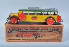 Gerard a Overland Trail Bus & box