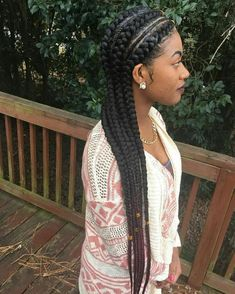 TOP 25 All-Over Braided Hairstyles for Black American Woman - Best Ideas 2018