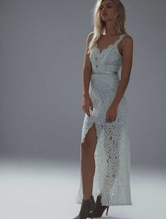Free People white lace dress, for rehearsal or honey moon