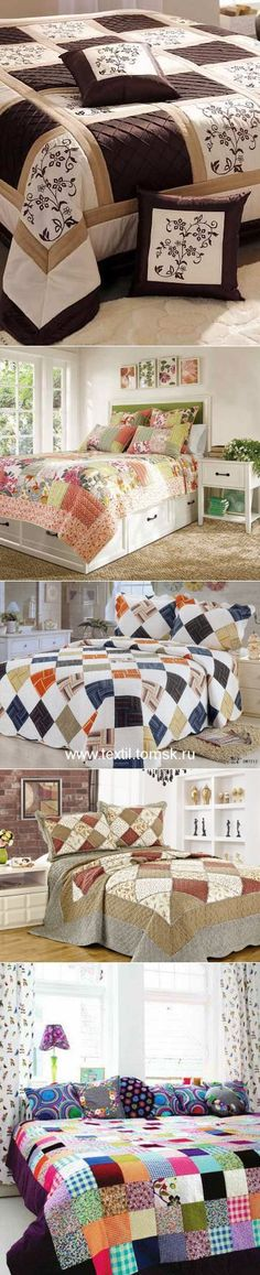 The patchwork will add warmth to your house