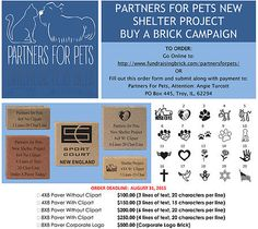Helps Partners for Pets with their new shelter facility