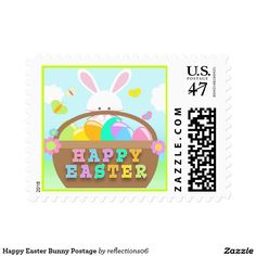 Happy Easter Bunny Postage