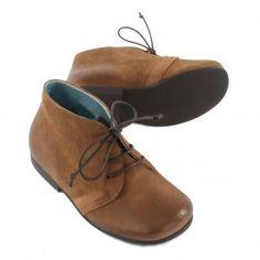 Desert Boots Cuir Patiné Camel  Pèpè
