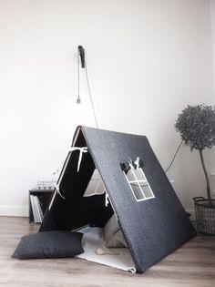 Villastormen: Ett tält till lekrummet