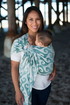 Tula Surf Wrap Conversion Ring Sling - Malibu