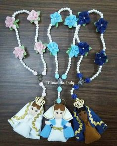 Sewing Projects, Projects To Try, Kirchen, Reborn Babies, Communion, Tassel Necklace, Santa, Crafty, Diy