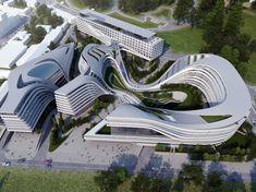 The Otherworldly Architecture Of Zaha Hadid