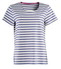 Frühjahrskollektion 2014 - Das Kurzarmshirt besteht aus 100 % Öko Baumwolle und ist somit ein stilsicheres Beispiel für Kleidung aus Naturmaterialien.