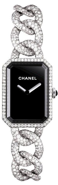 Chanel Ladies Watch Diamonds and Gold #LadiesWatches #ChanelJewelry #WomensFashion