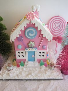 A personal favorite from my Etsy shop https://www.etsy.com/listing/165524854/pink-candy-land-house