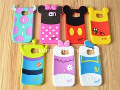 Cute Cartoon Sulley Soft Silicone Case rubber cover for Samsung Galaxy S6 #RLH