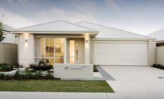 Display Homes | Homebuyers Centre - Chic elevation