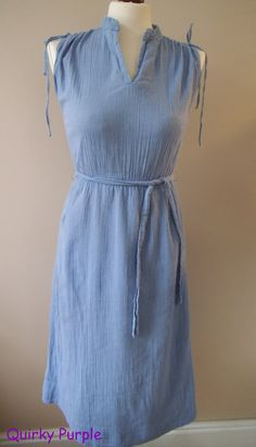 Denim never really goes out of fashion - pure 70s, but looks very now!  www.quirkypurple.com Going Out, Pure Products, Summer Dresses, Denim, Inspiration, Fashion, Biblical Inspiration, Moda, Summer Sundresses