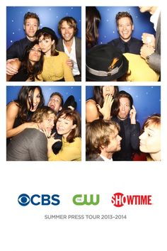 NCIS: LA stars The cast of NCIS: LA in the TCA photo booth.