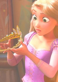 "Rapunzel's eyes. So expressive. Love ""Tangled"". We have watched it twice in the last week."