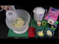 Make Perfectly Pipeable Butter Cream Frosting - A Cupcake Addiction How To Tutorial - YouTube