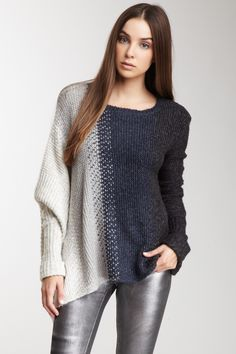 Line Knitwear love the side to side variegation